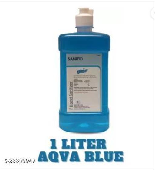 1 Liter AQVA BLUE hand sanitizer spray