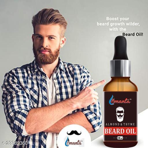 Almond Premium Faster Beard oil Hair Oil  (30 ml)