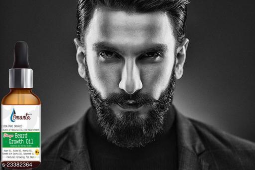 Stonger Beard Growth Oil- For Stimulating fast Beard Growth Hair Oil  (30 ml)