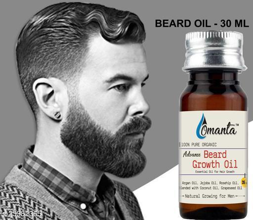 Advance Beard Oil For Men For Thicker And Longer Beard For Specially Men Beard Grooming Hair Oil  (35 ml)