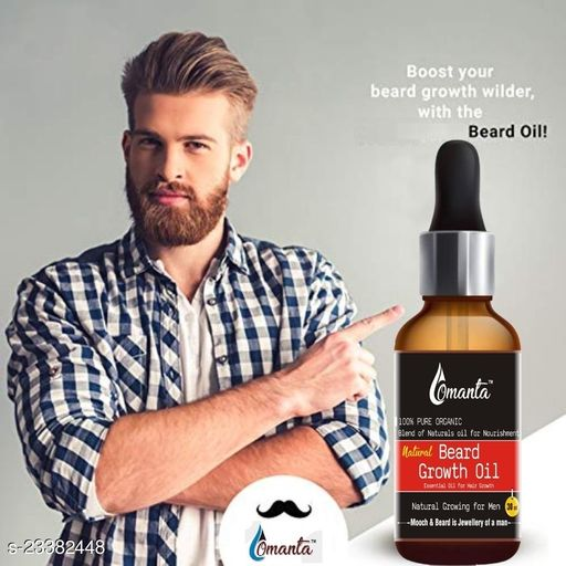 Natural Premium Faster Beard oil Hair Oil  (30 ml)