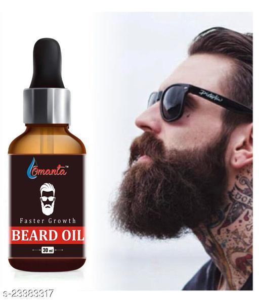 Faster Beard Growth Oil, No Harmful Chemicals beard Oil  (30 ml)
