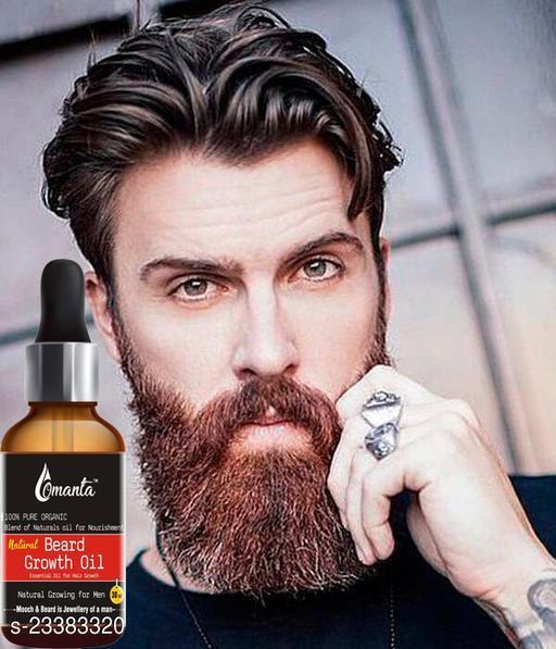 Natural Beard Growth Oil for Strong & Healthy Beard Growth Hair Oil(30 ml)