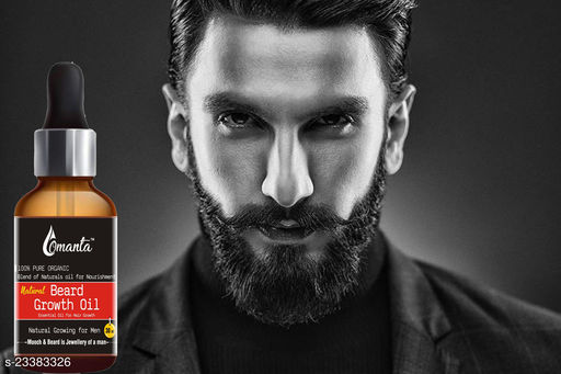 Natural Beard Growth Oil- For Stimulating fast Beard Growth Hair Oil  (30 ml)