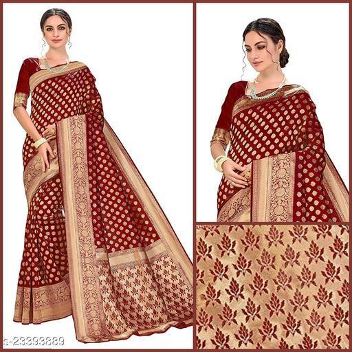 Trendy Banarasi Silk Sarees