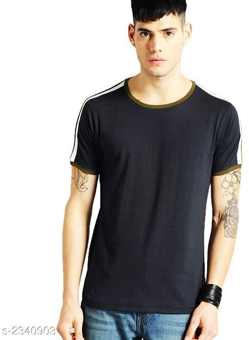 Tshirts Stylish 100 % Cotton Men's T-Shirt Fabric: 100 % Cotton  Sleeves: Sleeves Are Included Size: S  M  L  XL  2XL (Refer Size Chart) Length: Refer Size Chart Type: Stitched Description: It Has 1 Piece Of Men's T-Shirt Pattern: Solid Country of Origin: India Sizes Available: S, M, L, XL, XXL *Proof of Safe Delivery! Click to know on Safety Standards of Delivery Partners- https://ltl.sh/y_nZrAV3  Catalog Rating: ★4 (496)  Catalog Name: free mask Latest Stylish 100 % Cotton Men's T-Shirts Vol 10 CatalogID_312635 C70-SC1205 Code: 133-2340903-