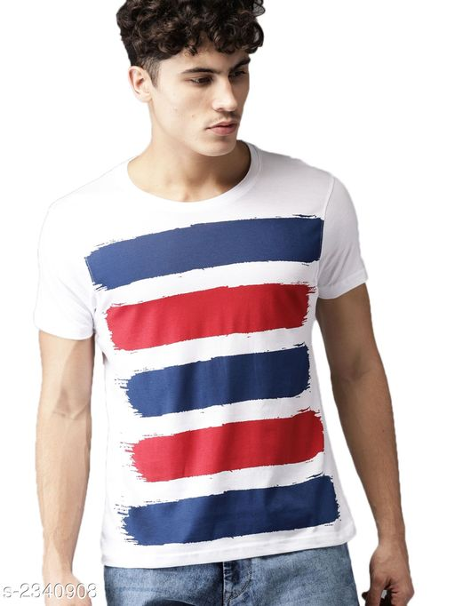 Tshirts Stylish 100 % Cotton Men's T-Shirt Fabric: 100 % Cotton  Sleeves: Sleeves Are Included Size: S  M  L  XL  2XL (Refer Size Chart) Length: Refer Size Chart Type: Stitched Description: It Has 1 Piece Of Men's T-Shirt Work: Printed Country of Origin: India Sizes Available: S, M, L, XL, XXL *Proof of Safe Delivery! Click to know on Safety Standards of Delivery Partners- https://ltl.sh/y_nZrAV3  Catalog Rating: ★4 (496)  Catalog Name: free mask Latest Stylish 100 % Cotton Men's T-Shirts Vol 10 CatalogID_312635 C70-SC1205 Code: 223-2340908-
