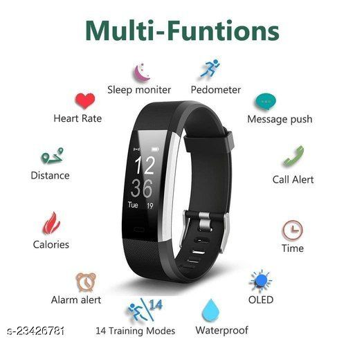 Best ID115=OPS1 Smart Band Steps Count
