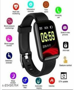 Best ID116=OPS1 Smart Band for Steps Count(Men/Women)
