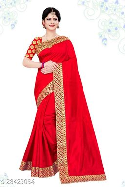 Pure Dola Silk Saree with Heavy Embroidery Lace   Heavy Banglori Satin Silk with Embroidery