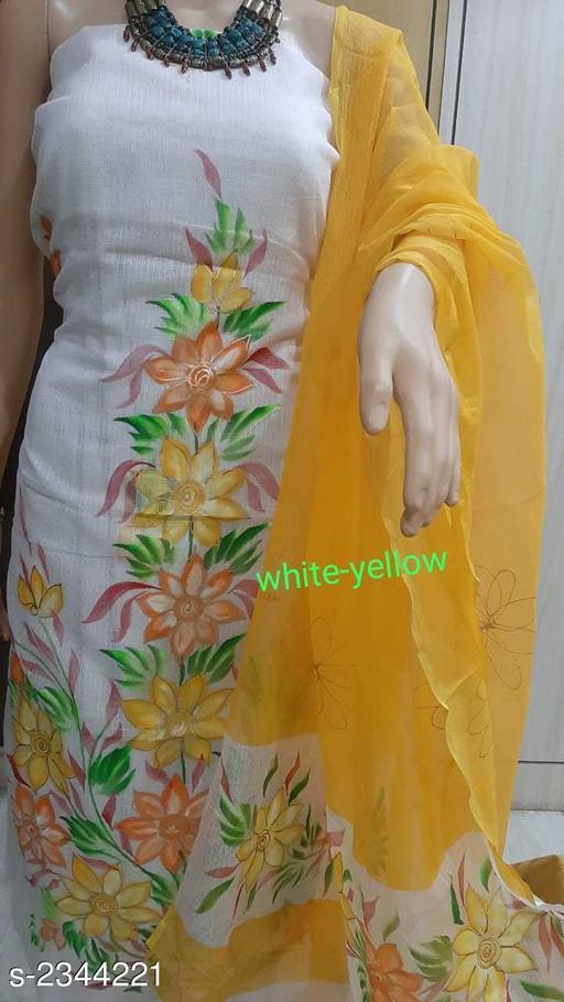 Pretty Kota Doriya Cotton  Printed Suits & Dress Material