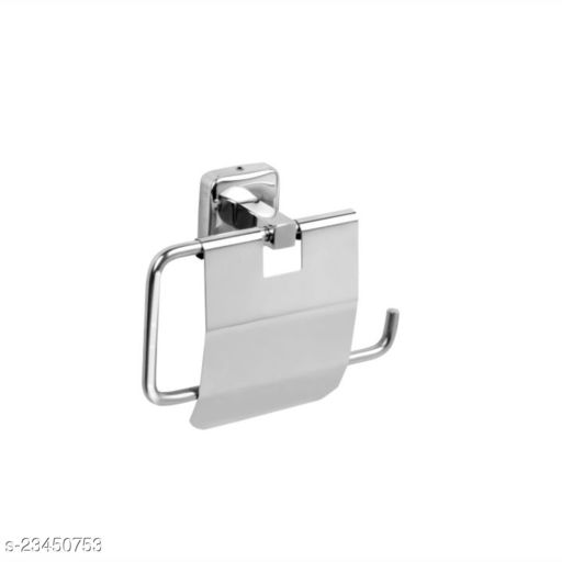 PANTHERA Crystal Series Stainless Steel Toilet Paper Roll Holder for Bathroom (Silver)