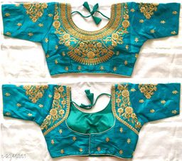 Ethnic Fentam Silk Blouse
