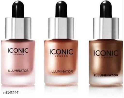 ALNI  ICONIC HIGHLIGHTER ILLUMINATORS BLOSSOM ORIGINAL GLOW PACK OF 3 Highlighter  (Original, Blossom, Glow)