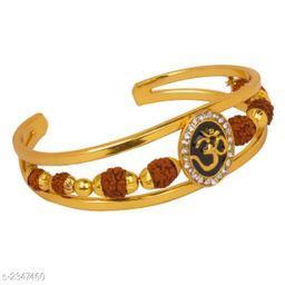 Stylish Brass Embellished Men's Bracelet