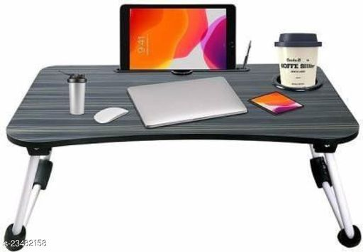 BLACK LAPTOP/STEADY TABLE