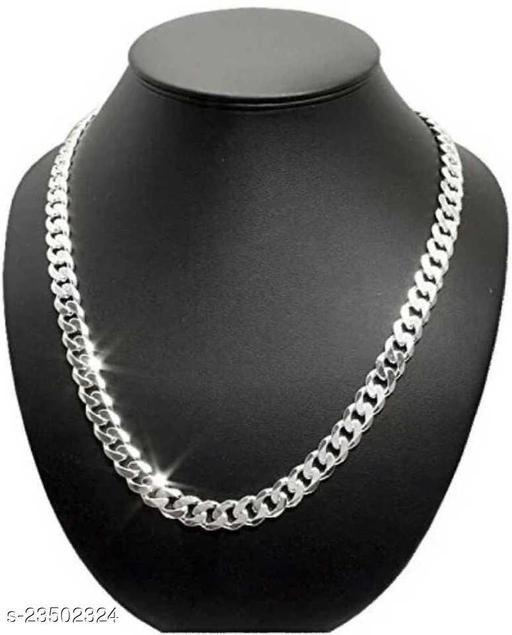 Stylish Men's Silver Chain