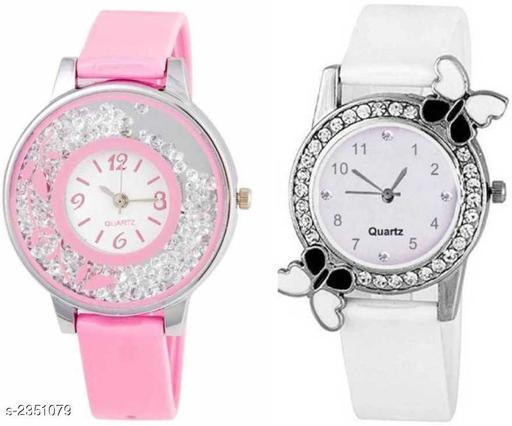Trendy Designer Women's Watches (Pack Of 2)