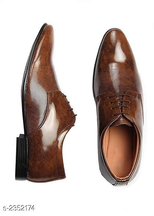 Formal Shoes  Elite Versatile Men's Formal Shoe  *Material* Outer Material - Genuine Leather, Sole Material - PU  *IND Size* IND - 6, IND - 7, IND - 8, IND - 9, IND - 10  *Description* It Has 1 Pair Of  Men's Formal Shoes  *Sizes Available* IND-6, IND-7, IND-8, IND-9, IND-10 *    Catalog Name: Comfy Elite Versatile Men's Formal Shoes Vol 5 CatalogID_314240 C67-SC1236 Code: 845-2352174-