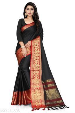 Aura Silk Jacquard Saree With Blouse Piece