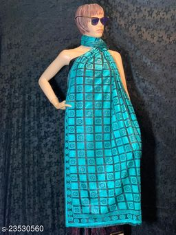Blue  Colored Casual wear Polyster Dying  Dupatta