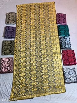 Gold  Colored Casual wear Polyster Dying  Dupatta