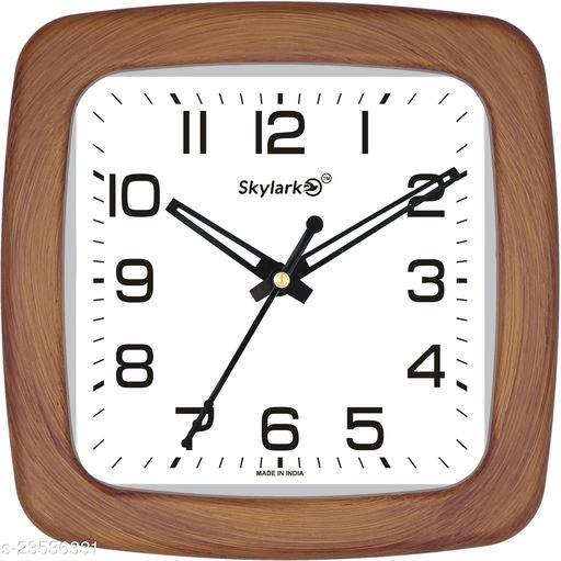 skylark Analog 20 cm X 20 cm Wall Clock