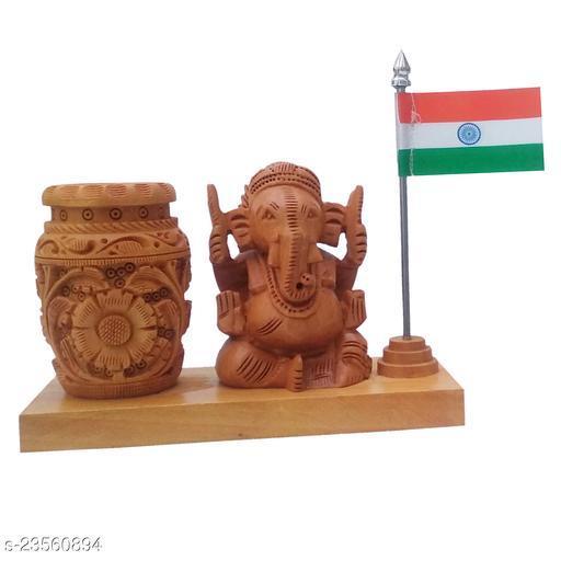 mk handicraft pen HolderWith Ganesh