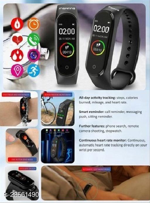 M4 Heart Rate Smarat Watch For Men