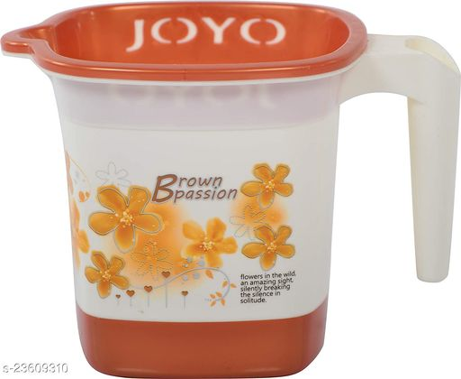 JOYO PASSION SQUARE BATH MUG BROWN 1L