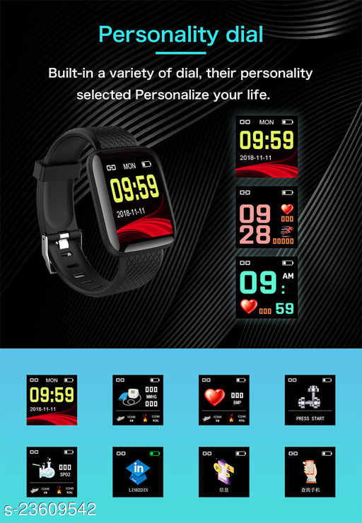 Smart Fitness Watch for Daily Activity Tracker