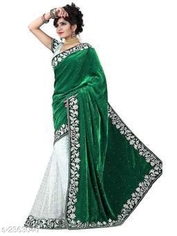 Stylish Occasion Velvet Women's Saree