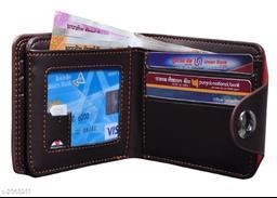 Trendy Men's Maroon Wallet