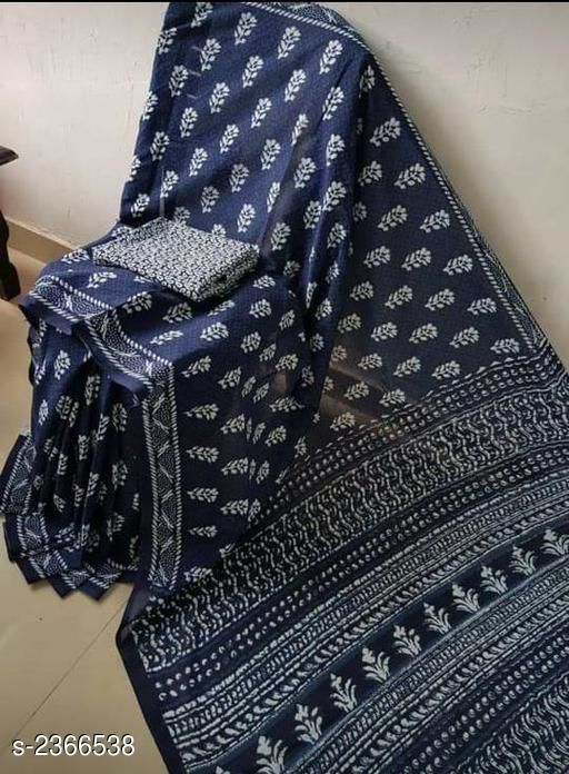 Stunning Mulmul Cotton Women's Saree