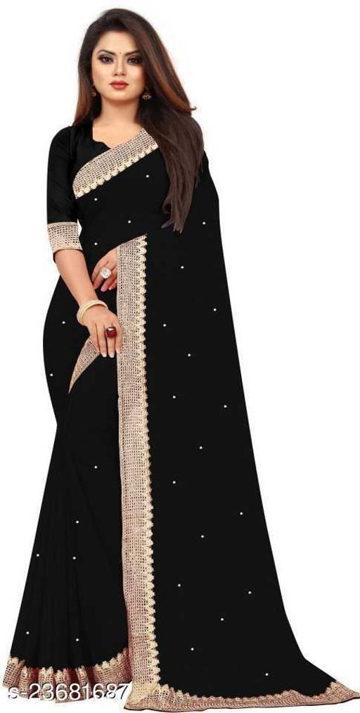 Black Sarees