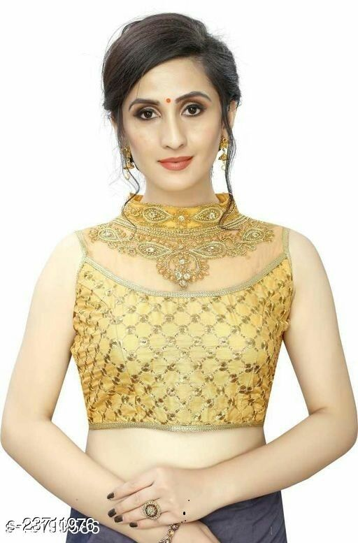 Akki Crearion Handwork Embroidered Party Stitched Readymade Blouse