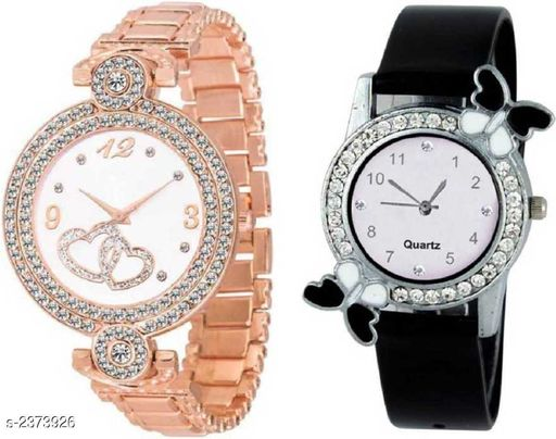 Trendy Women's Watches (Pack Of 2)