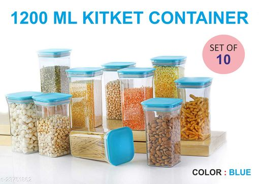BLUE - 1200ML KITKET CONTAINER -10