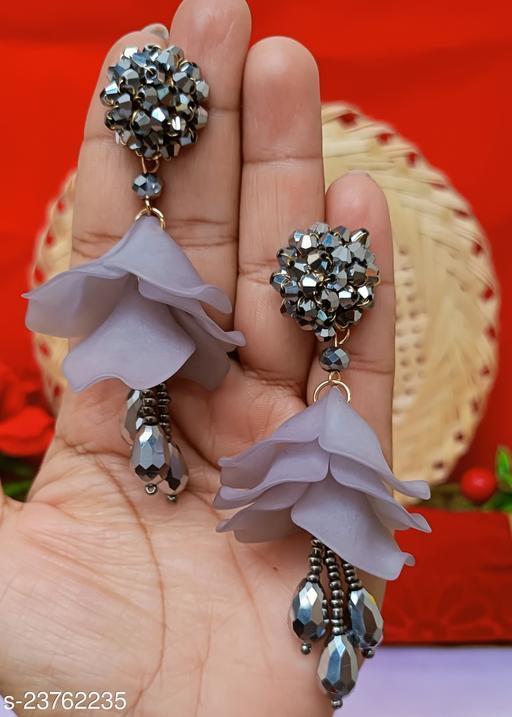 Shimmering Chunky Earrings
