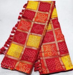 New Fashionable Soft Kota Doria Cotton Lehariya Saree