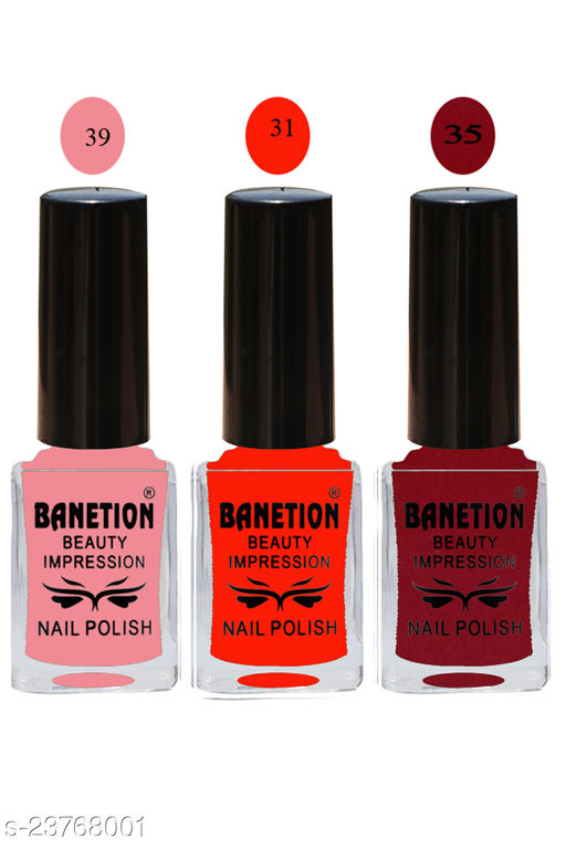 Banetion Exclusive Long Lasting Nail Paint
