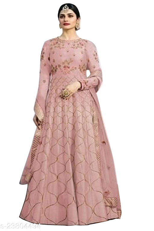 best embroidery work on dolla silk salwar suit
