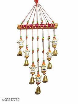 Multicolor Kalash Design Wall Hanging Decoration for Main Door Living Room | Tota Articles, Bell Design Hanging Toran |Home, Mandir, Office(180g) II Religious Festival Gift Ideal