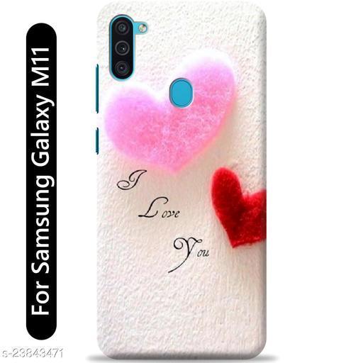 Loffar Back Cover For Samsung Galaxy M11