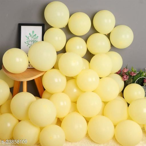 Yellow Latex Balloons Set Of 50