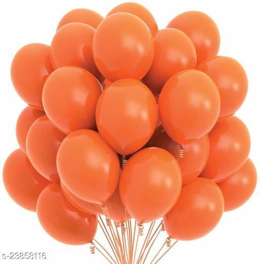 Orange Latex Balloons Set Of 50
