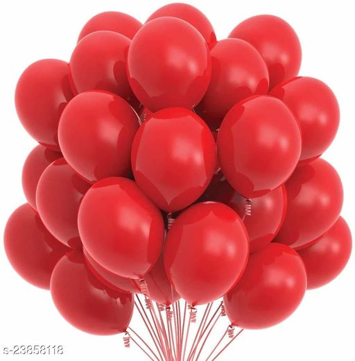 Red Latex Balloons Set Of 50