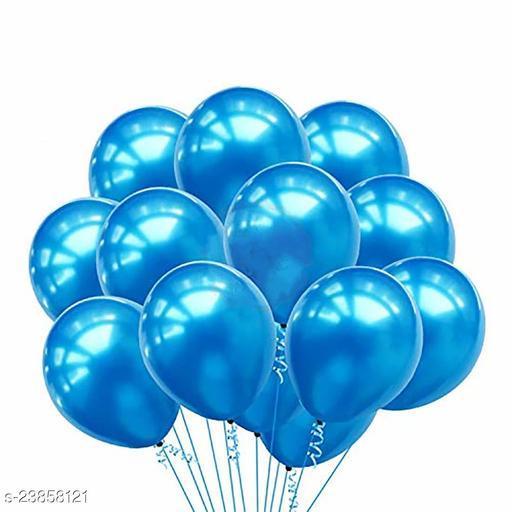 Blue Latex Balloons Set Of 50