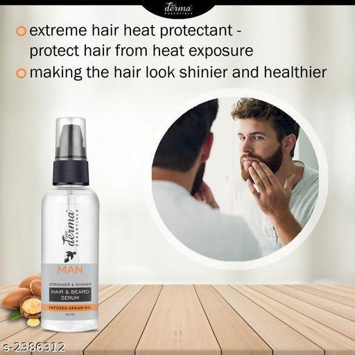 True Derma Essentials Hair & Beard (Argan Oil) Hair Serum