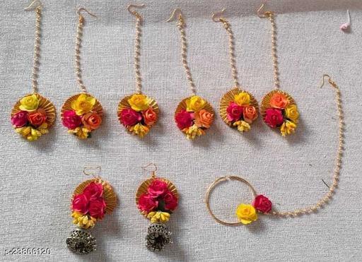 Sizzling Bejeweled Jewellery Set